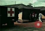 Image of Air Transportable hospital unit provides medical services for Vietnamese refugees Florida United States USA, 1975, second 35 stock footage video 65675050946