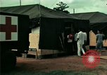 Image of Air Transportable hospital unit provides medical services for Vietnamese refugees Florida United States USA, 1975, second 36 stock footage video 65675050946