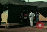 Image of Air Transportable hospital unit provides medical services for Vietnamese refugees Florida United States USA, 1975, second 38 stock footage video 65675050946