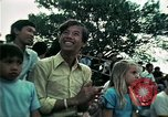 Image of Vietnamese refugees listen to music Florida United States USA, 1975, second 47 stock footage video 65675050947