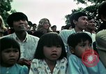 Image of Vietnamese refugees listen to music Florida United States USA, 1975, second 55 stock footage video 65675050947