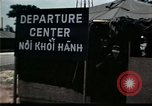 Image of Vietnamese refugee departure center Florida United States USA, 1975, second 15 stock footage video 65675050955
