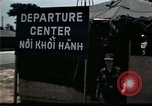 Image of Vietnamese refugee departure center Florida United States USA, 1975, second 16 stock footage video 65675050955