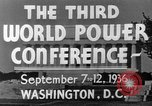 Image of World Power Conference United States USA, 1936, second 9 stock footage video 65675050961