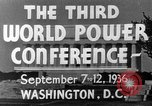 Image of World Power Conference United States USA, 1936, second 10 stock footage video 65675050961