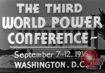 Image of World Power Conference United States USA, 1936, second 13 stock footage video 65675050961