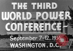Image of World Power Conference United States USA, 1936, second 14 stock footage video 65675050961
