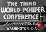 Image of World Power Conference United States USA, 1936, second 15 stock footage video 65675050961