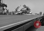 Image of USS Ranger South China Sea, 1965, second 28 stock footage video 65675051017