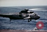 Image of USS Ranger South China Sea, 1970, second 7 stock footage video 65675051022