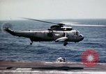 Image of USS Ranger South China Sea, 1970, second 8 stock footage video 65675051022