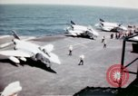 Image of USS Ranger South China Sea, 1970, second 32 stock footage video 65675051022