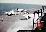 Image of USS Ranger South China Sea, 1970, second 41 stock footage video 65675051022