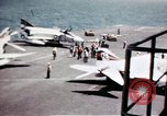 Image of USS Ranger South China Sea, 1970, second 43 stock footage video 65675051022