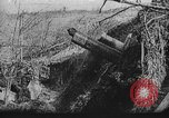 Image of American artillery in action World War 1 European Theater, 1918, second 1 stock footage video 65675051029