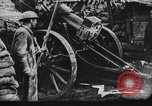 Image of American artillery in action World War 1 European Theater, 1918, second 2 stock footage video 65675051029