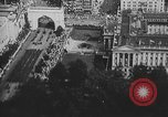 Image of American soldiers parade in Paris after World War I. Paris France, 1919, second 25 stock footage video 65675051031