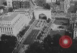Image of American soldiers parade in Paris after World War I. Paris France, 1919, second 29 stock footage video 65675051031