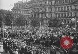 Image of American soldiers parade in Paris after World War I. Paris France, 1919, second 31 stock footage video 65675051031