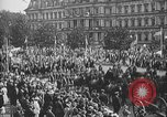 Image of American soldiers parade in Paris after World War I. Paris France, 1919, second 33 stock footage video 65675051031