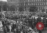 Image of American soldiers parade in Paris after World War I. Paris France, 1919, second 35 stock footage video 65675051031