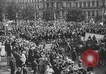 Image of American soldiers parade in Paris after World War I. Paris France, 1919, second 37 stock footage video 65675051031