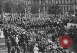 Image of American soldiers parade in Paris after World War I. Paris France, 1919, second 38 stock footage video 65675051031