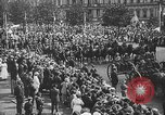 Image of American soldiers parade in Paris after World War I. Paris France, 1919, second 39 stock footage video 65675051031