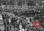 Image of American soldiers parade in Paris after World War I. Paris France, 1919, second 40 stock footage video 65675051031