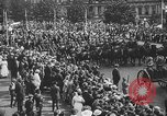 Image of American soldiers parade in Paris after World War I. Paris France, 1919, second 41 stock footage video 65675051031