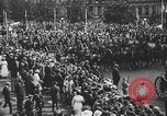 Image of American soldiers parade in Paris after World War I. Paris France, 1919, second 42 stock footage video 65675051031