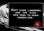 Image of Spirit of Saint Louis monoplane United States USA, 1926, second 3 stock footage video 65675051040