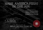 Image of development of air power United States USA, 1925, second 2 stock footage video 65675051054