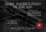 Image of development of air power United States USA, 1925, second 30 stock footage video 65675051054