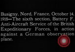 Image of German observation plane Busigny Nord France, 1918, second 14 stock footage video 65675051063