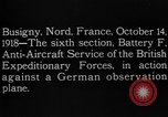 Image of German observation plane Busigny Nord France, 1918, second 15 stock footage video 65675051063