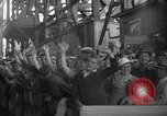 Image of Launching submarine USS Searaven SS-196 Kittery Maine USA, 1939, second 24 stock footage video 65675051086