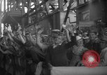 Image of Launching submarine USS Searaven SS-196 Kittery Maine USA, 1939, second 27 stock footage video 65675051086