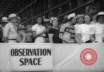 Image of Launching submarine USS Searaven SS-196 Kittery Maine USA, 1939, second 28 stock footage video 65675051086
