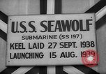 Image of Launching submarine USS Searaven SS-196 Kittery Maine USA, 1939, second 44 stock footage video 65675051086