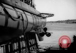 Image of Launching submarine USS Searaven SS-196 Kittery Maine USA, 1939, second 46 stock footage video 65675051086