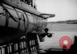 Image of Launching submarine USS Searaven SS-196 Kittery Maine USA, 1939, second 48 stock footage video 65675051086