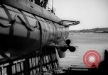 Image of Launching submarine USS Searaven SS-196 Kittery Maine USA, 1939, second 50 stock footage video 65675051086