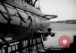 Image of Launching submarine USS Searaven SS-196 Kittery Maine USA, 1939, second 51 stock footage video 65675051086