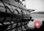 Image of Launching submarine USS Searaven SS-196 Kittery Maine USA, 1939, second 53 stock footage video 65675051086
