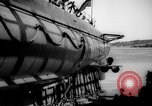 Image of Launching submarine USS Searaven SS-196 Kittery Maine USA, 1939, second 54 stock footage video 65675051086
