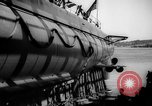 Image of Launching submarine USS Searaven SS-196 Kittery Maine USA, 1939, second 55 stock footage video 65675051086