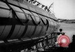 Image of Launching submarine USS Searaven SS-196 Kittery Maine USA, 1939, second 57 stock footage video 65675051086