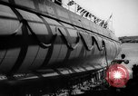 Image of Launching submarine USS Searaven SS-196 Kittery Maine USA, 1939, second 60 stock footage video 65675051086