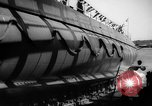 Image of Launching submarine USS Searaven SS-196 Kittery Maine USA, 1939, second 61 stock footage video 65675051086